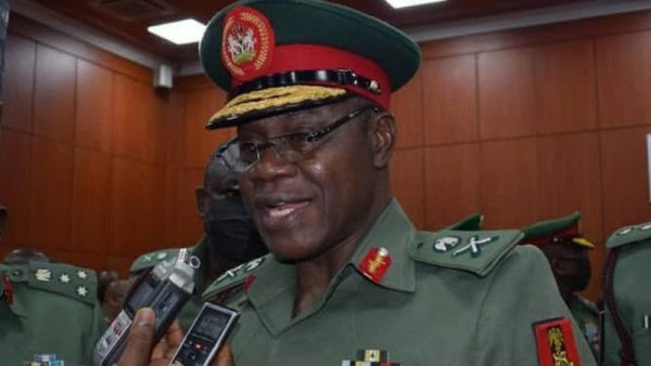 Don't Rest Until We Completely Defeat Insurgency, Army Chief Tells Troops