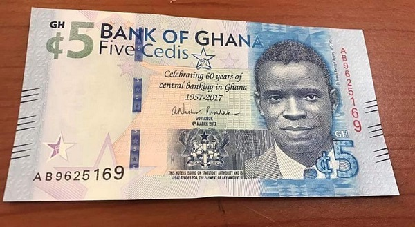Here is how the cedi is performing against major foreign currencies as of June 23