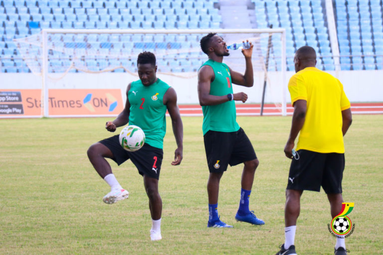 Mohammed Kudus, Kwame Poku train with Black Stars teammates