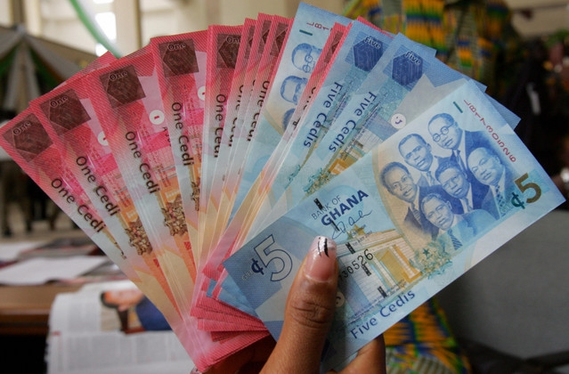 Here is how the cedi is performing against major foreign currencies as of June 9