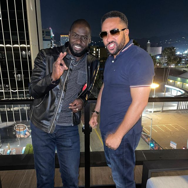 What happened during Majid's reunion with Chris Attoh [Photos+Video]