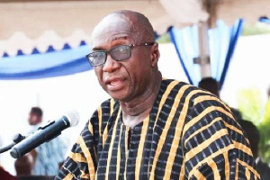 The Interior Minister, Mr.  Ambrose Dery