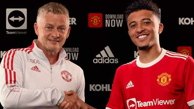 Manchester United complete Jadon Sancho signing from Dortmund
