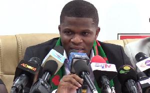 Sammy Gyamfi, the National Communications Officer of the National Democratic Congress
