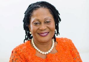 Former first lady of Ghana Lordina Mahama