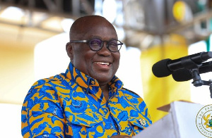President Akufo-Addo performed the launch at Awaso in the Western North region