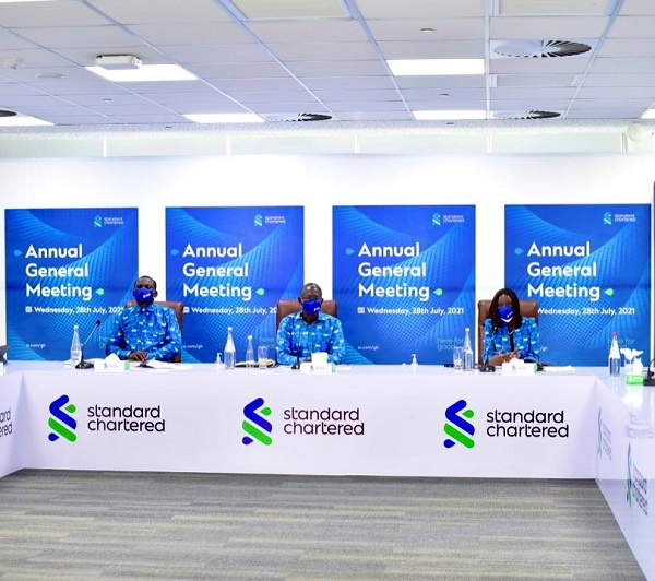 Standard Chartered Bank Ghana PLC pays 23% of total income as dividend to shareholders