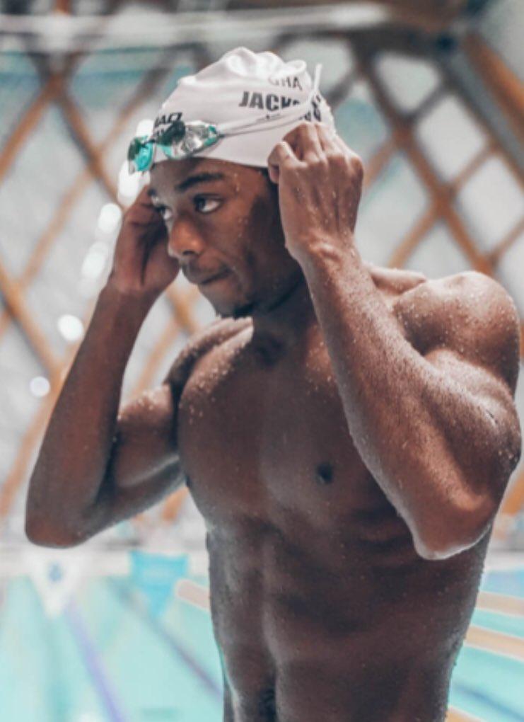 Abeiku Jackson misses out on Men's 100m Butterfly semi-finals despite winning Heat 2