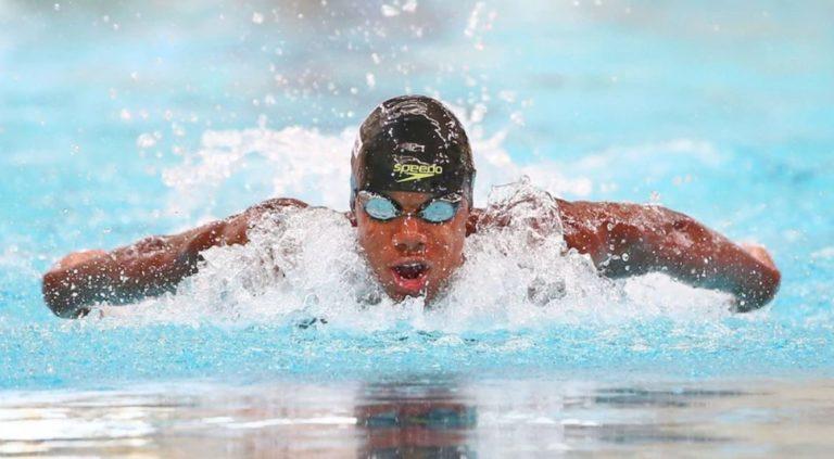 Ghana's Abeiku Jackson wins men's 100m butterfly heat [VIDEO] » ™