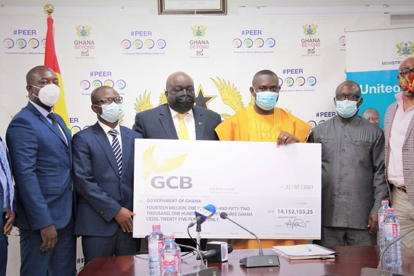 GCB Bank pays GH¢69.62 million dividend to shareholders in four years