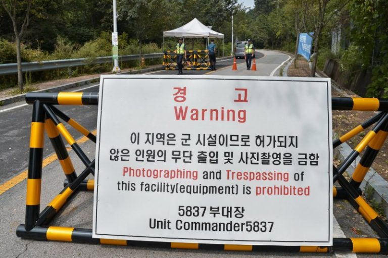 Protester rushed to hospital after clash at South Korea THAAD site