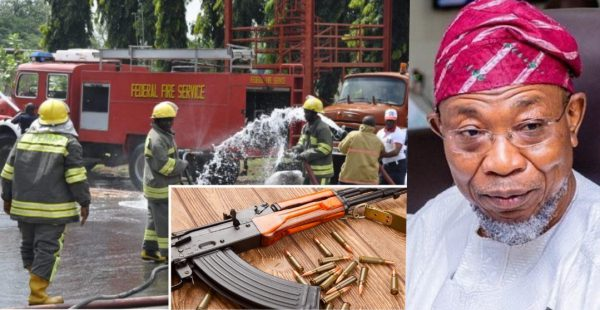 Fire Service Workers To Start Carrying AK-47, Other Firearms: Aregbesola