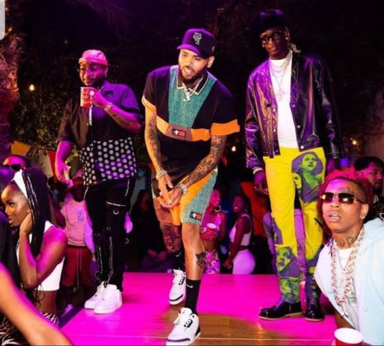 Social media on fire as Davido bags feature with Chris Brown [Video]