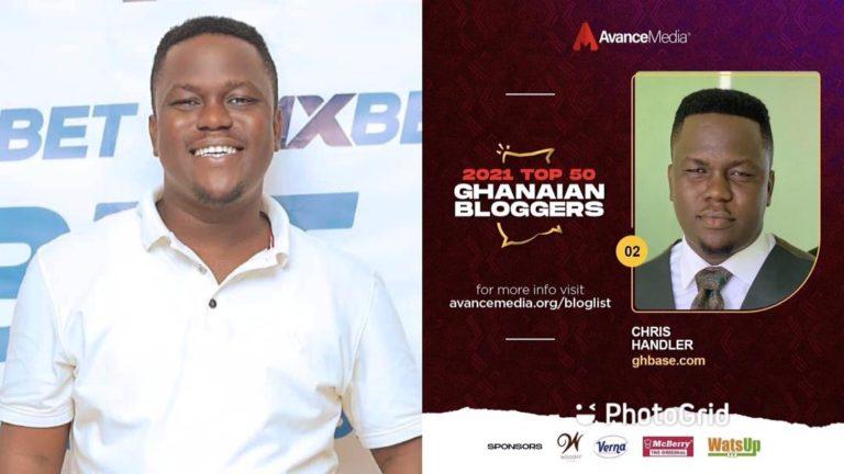 GhBase.com's Chris Handler adjudged the number 2 Blogger of the Year by Avance Media [Full List] » ™