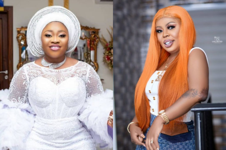 Moments Bofowaa Surprised Afia Schwarzenegger With A Cake And Beautiful Necklace
