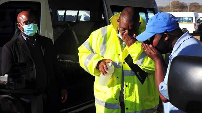 Be mindful of sanitiser you use, says Jacob Mamabolo
