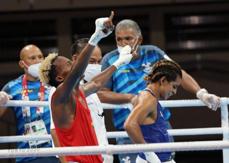 Tokyo 2020: Samuel Takyi advances to the Quarterfinals after a gritty display