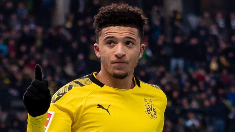 Man Utd agree £73m fee for Dortmund and England winger Sancho