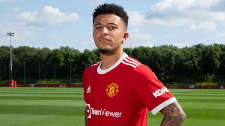 Manchester United sign Sancho from Borussia Dortmund for £73m