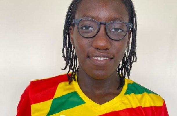 Young swimmer advises Ghanaian youth to work hard and aim for the top