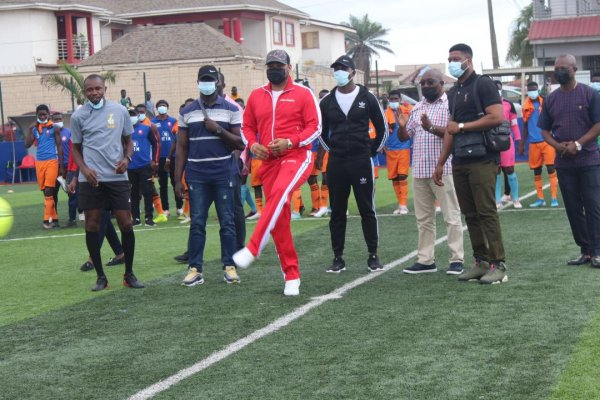 Kantanka Cup opens with thrilling football talents on display
