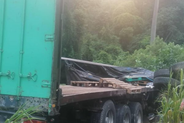 Two dead in accident on Asukawkaw mountain