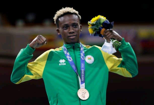 Tokyo 2020: Bronze medalist Samuel Takyi hailed by American boxer