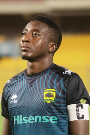 The 26-year-old won three Ghana Premier League titles and MTN FA Cup twice at Kotok