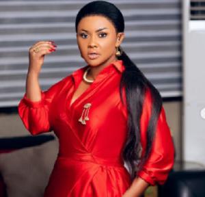 Ghanaian actress and TV host Nana Ama McBrown