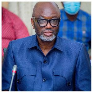 President of GUTA, Dr. Joseph Obeng