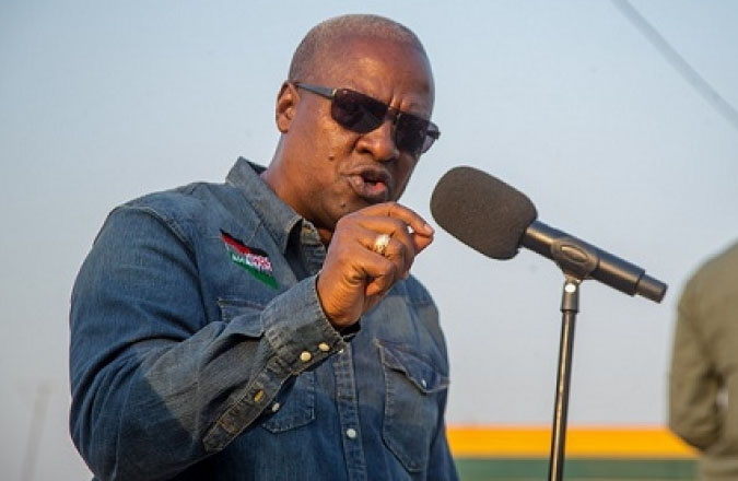Times are hard, people are suffering in Ghana – Mahama