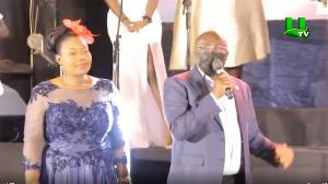 Vice-President, Dr Mahamudu Bawumia at the launch of Mrs. Sybil Ansah Quartey's new album