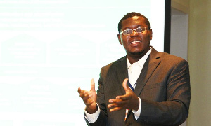 Vice president of Imani Africa and founder of the mPedigree, Bright Simons