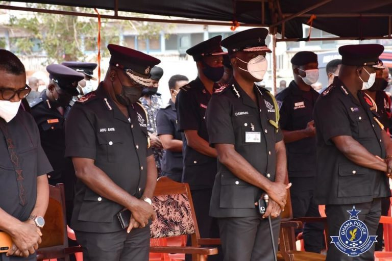 IGP joins family to mourn late Sergeant Ayertey