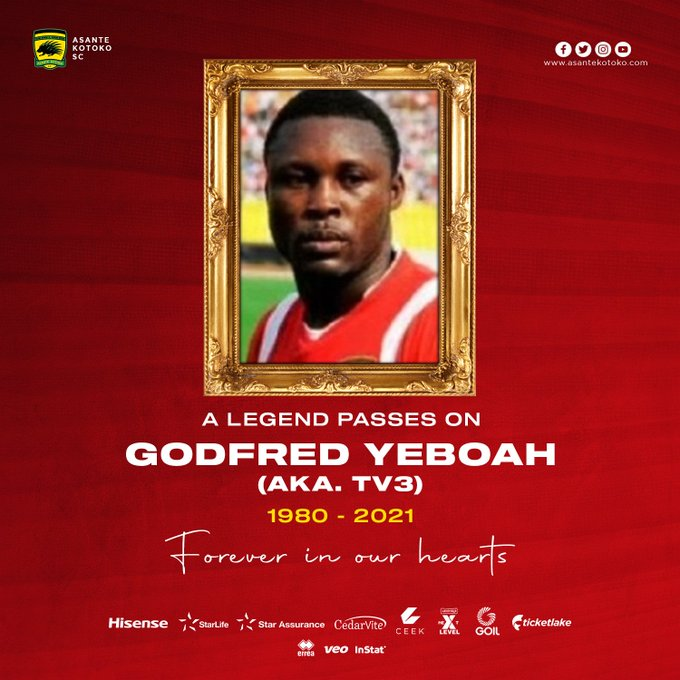 Asante Kotoko mourn former defender
