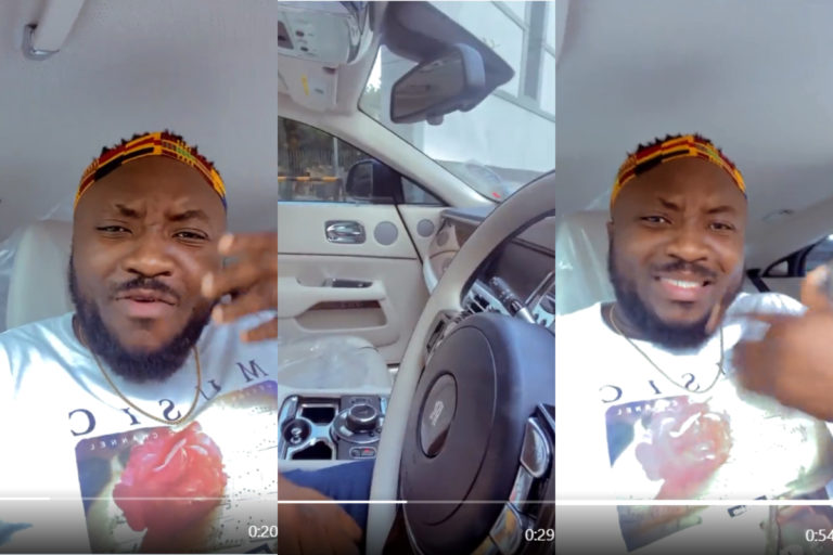 DKB Breaks Down After Getting The Chance To Sit Inside His Friend's Rolls Royce Whip For The First Time [Video] » ™