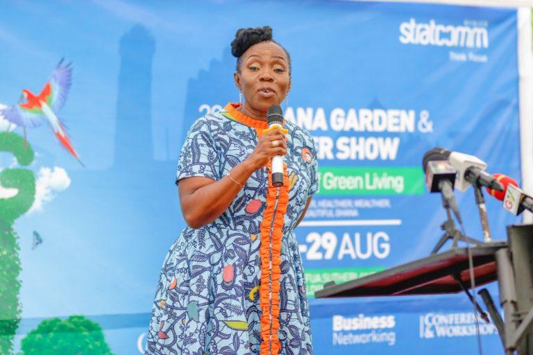 9th edition of Ghana Garden flower show officially opens at Efua Sutherland Children's park