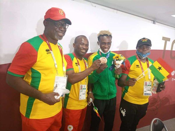 Tokyo 2021: NSA Boss Praises Samuel Takyi For Winning Ghana A Medal