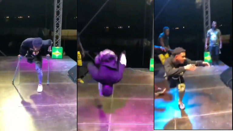 Amputee dancer throws crutches away as he thrills fans with wild dance moves [Video] » ™