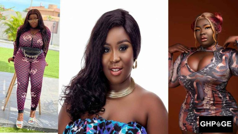 Maame Serwaa makes bold statement as she puts hot body on display