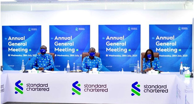 Standard Chartered Pays GH¢234.4m Dividends To Shareholders
