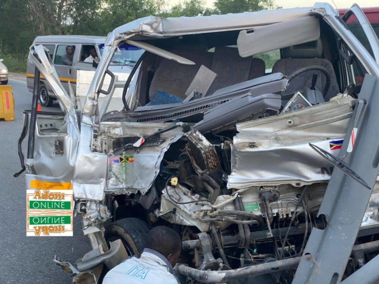 Nursing mother dead, two in critical condition in accident on Kasoa-Cape…