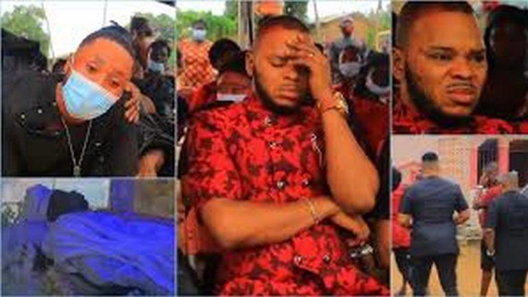 Badu Kobi, Obofour, several pastors mourn with Obinim [Photos]