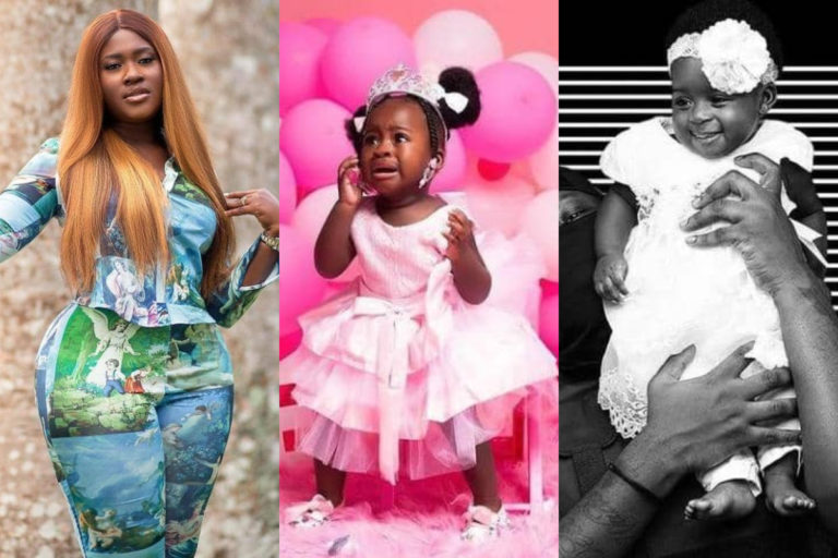 'You will never suffer in life, your parents are superstars'- Fella Makafui goes emotional as she celebrates daughter's 1st birthday
