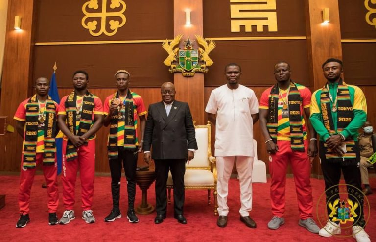 Ghana's Tokyo Olympic Team best in the 4th Republic
