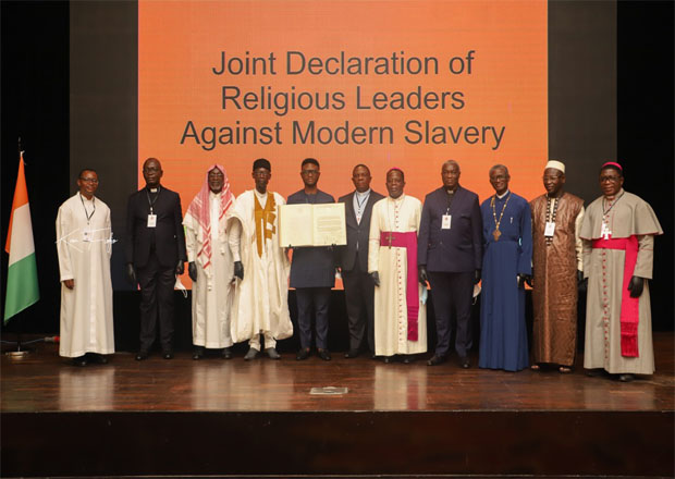 Religious Leaders Declare End To Modern Slavery