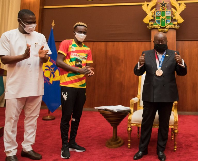 Olympic feat must spur us on to greater heights – Akufo-Addo to GOC