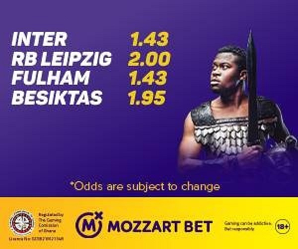 Mozzart Bet offers biggest odds in four Saturday games