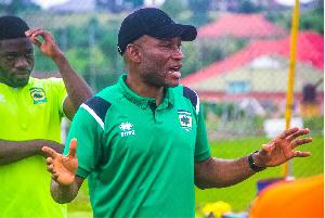 Asante Kotoko coach, Dr. Prosper Ogum