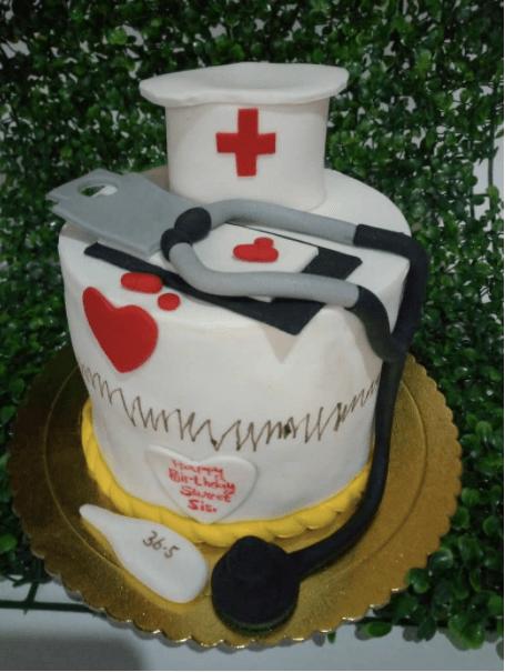 Nurse celebrates birthday